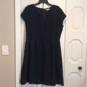 DownEast Navy Blue Dress